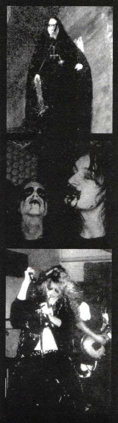Mayhem Dead and Euronymous.