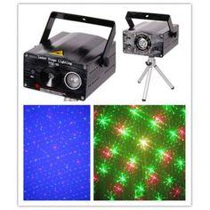 LED Light Show Laser Light Stage Projector DJ Equipment    Price : US $118.00
