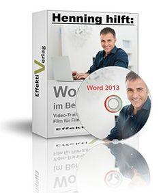 Microsoft Word 2013 im Beruf, Video-Training in Full-HD auf DVD, für ein ganz neues Level von Effektiv Verlag, http://www.amazon.de/dp/B00SNIYVIS/ref=cm_sw_r_pi_dp_BpPWub0J3P610