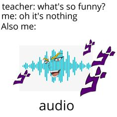 Audio Jojo Memes, Dankest Memes, Funny Memes, What's So Funny, Hilarious, Jojo Bizarro, Jojo Bizarre Adventure, Stupid Memes, Funny Posts