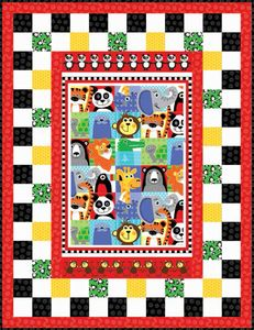 FREE DOWNLOADABLE PATTERN - Henry Glass At The Zoo
