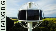 The Skysphere - An Ultra Futuristic High-Tech Retreat - great idea - but what is with cooking and washing and storing?