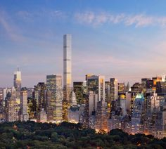 Rafael Vinoly's 432 Park Avenue to become the tallest building in the Western hemisphere