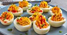 Sweet or Spice a food adventure Deviled Eggs, Mashed Potatoes, A Food, Panna Cotta, Spices, Pudding, Treats, Ethnic Recipes, Sweet