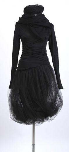 rundholz - Shirt Langarm black - Sommer 2015 - stilecht - mode für frauen mit format...