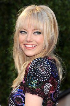 February 2011—Serious Shag - Emma Stone's Best Hair Looks - Photos