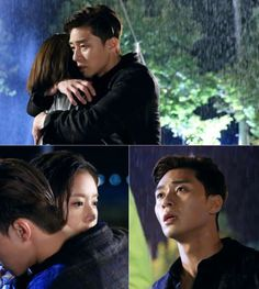 [Spoiler] 'She Was Pretty' Park Seo-joon and Hwang Jeong-eum's passionate hug in pouring rain, is this the beginning of loveline? @ HanCinema :: The Korean Movie and Drama Database