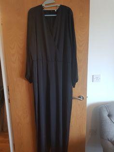 a580ca5e920 Evening Jumpsuit - Black Silk And Georgette Marina Rinaldi 27  fashion   clothing  shoes