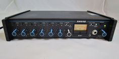 Shure M-367 Portable AC/DC 6 Channel Microphone Mixer Tested Working  #Shure #Mixer #shuremixer #microphonemixer