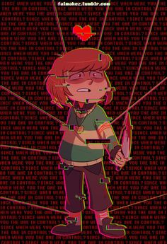 Chara Tfw u were forced to commit genocide thus killing all ur friends and adopted family in the process Undertale Cute, Undertale Fanart, Undertale Comic, Frisk, Chara, Undertale Drawings, Sad Art, Funny Images, Beautiful Day