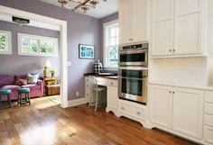 All white kitchen renovation