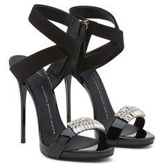 Liliana - Sandals - Black | Giuseppe Zanotti