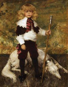 Portrait of James Rapelje Howell--William Merritt Chase (composition)