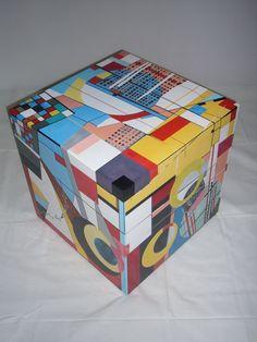 Sideboard, Holz, Hochglanzlack,          45 x 45 x 45 cm Small Furniture, Decorative Boxes, Vase, Home Decor, Textile Design, Decoration Home, Room Decor, Vases, Home Interior Design