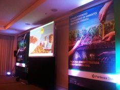 Evento de Agronegócio em Paulínia-SP nos dias 25 e 26/07. Frezarin Eventos fornecendo estrutura de sonorização, projeção, iluminação e informática. Tv, Tourism, Corporate Events, Television Set, Television