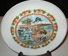 Vintage Florida State Collector Souvenir 7 Plate Kenmar Made in Japan   eBay