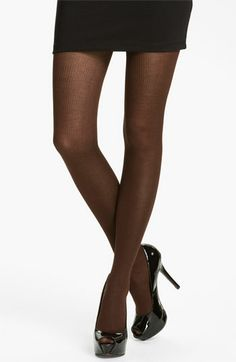 Hue Silky Ribbed Sweater Tights | Nordstrom | Things Worth Wearing ...