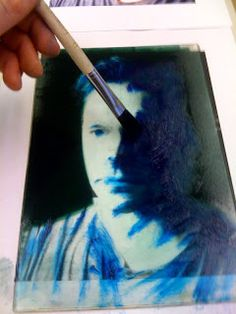 Monotype Printmaking: Additive and Subtractractive Self Portraits (from photographs)