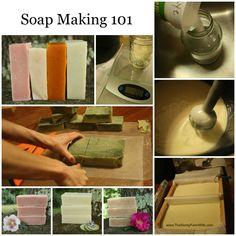 The Homestead Survival | Soap Making 101 – Making Cold Process Soap | http://thehomesteadsurvival.com  Homemade Soap Recipe -