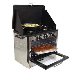 You've always wanted an oven when camping - Now you can with the Outdoor Camp Oven.