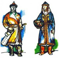 male and female clothing (szur coat, Hungarian) Stacey Soos-King: First Century and on. Actually from what I have found the Szur coat is still in use today. the difference is the amount of embroidery.