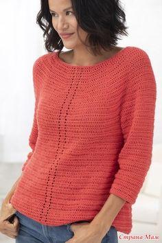 Crochet Lion, Knit Crochet, Moda Zara, Moda Crochet, Free Pattern Download, Lion Brand Yarn, Crochet Cardigan, Crochet Sweaters, Formal Shirts