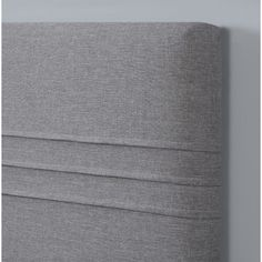 Chic and smooth in its appearance, the Pulaski Garvin Upholstered Headboard is the perfect addition to any bed. Featuring a rich metallic, silver color, this luxurious, upholstered headboard adds a touch of sophistication to your bedroom.