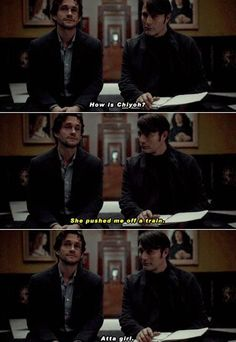 Hannibal & Will Graham (one of my fave scenes!)