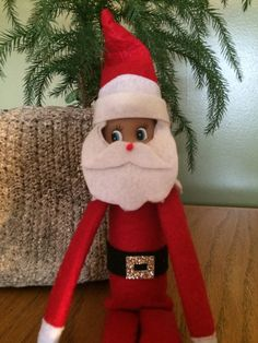 Why not have your elf dress up as Santa. A must have for busy nights when you dont have time to come up with something on your own. Only