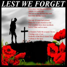 Remembrance Day Canada ♥ Thank you for your service. Lest we forget. On November we acknowledge the courage and sacrifice of those who served their country. Remembrance Day Quotes, Remembrance Day Poppy, Lest We Forget Poem, Armistice Day, Army Quotes, No Mans Land, Anzac Day, Australia Day, Canada