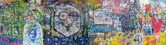 Lennon wall #prague