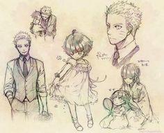 grafika naruto, himawari, and hinata Naruhina, Naruto Uzumaki, Anime Naruto, Inojin, Hinata Hyuga, Naruto Art, Naruto And Sasuke, Gaara, Manga Anime