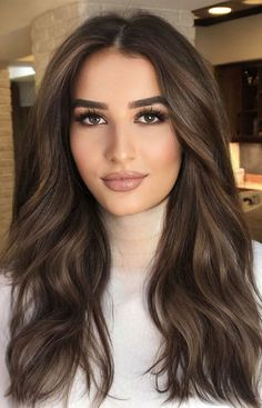 Best Hair Colours To Look Younger : Rich Chocolate Hair Colour