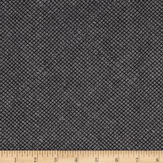 Kaufman Euclid Printed Linen Grid Yarn Dye Graphite from @fabricdotcom  From Carolyn Friedlander, this versatile linen blend fabric comes in wonderfully minimalist and modern designs and is perfect for a variety of projects. Use for quilting, jackets, vests, lined skirts, bags, home decor accents, and craft projects. Colors include black and grey