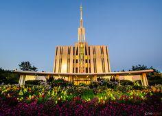Image #123 - Jarvie Digital - Seattle LDS Temple at Sunset  We love Temples at: www.MormonFavorites.com