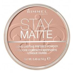 Rimmel London Stay Matte Long Lasting Pressed Powder - Buff Beige (Pack of Stay Matte Rimmel, Florida State University, Best Compact Powder, Mascara, College Makeup, Maybelline Instant Age Rewind, Beach Makeup, Dark Circles Treatment, Life Savers