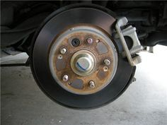 Replacing the Brakes (with pictures) Garage - AcuraZine - Acura Enthusiast Community Brake Repair, Garage, Community, Car, Pictures, Carport Garage, Photos, Automobile, Garages