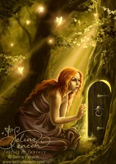 """Secret Door"" - Archives @ Selina Fenech – Fairy Art and Fantasy Art Gallery"