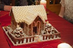Cath Kidston Gingerbread House competition. Made by Bethany Drake.