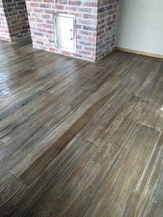Concrete Floor That Looks Like Wood U2026