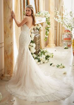 Wedding Dresses and Bridal Gowns by Morilee designed by Madeline Gardner. Each detail was finely considered when creating this spectacular bridal gown.