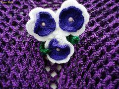 Edinir-Croche: xales em croche