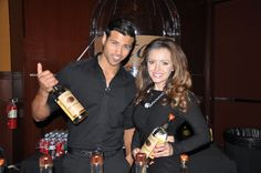 Tito's Vodka offered the best samples from their line during Golden Nugget's Whiskey Revival in 2015.