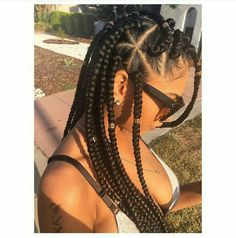 1000+ images about Braids on Pinterest | Faux locs, Kinky twists and Box braids