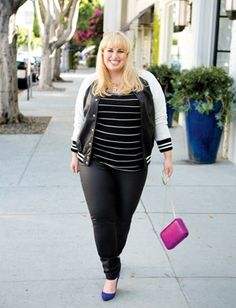 To hangout with Rebel Wilson---(LUCKY MAGAZINE GOES SHOPPING FOR PLUS SIZE CLOTHES WITH BRIDESMAIDS REBEL WILSON   STYLISH CURVES).