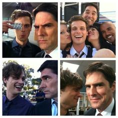 Criminal minds (side note: I'm really mad at Thomas Gibson. )