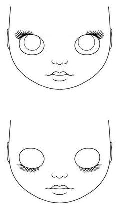 трафарет лица куклы: 10 тыс изображений найдено в Яндекс.Картинках
