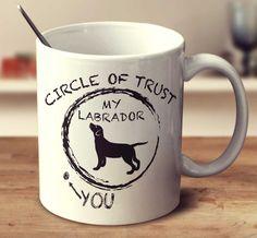 Circle Of Trust - Labrador – mug-empire