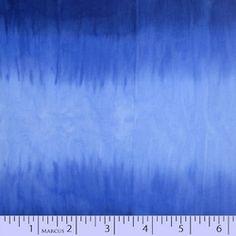 Ombre Hand Dyed Batik Blue 7608-0110