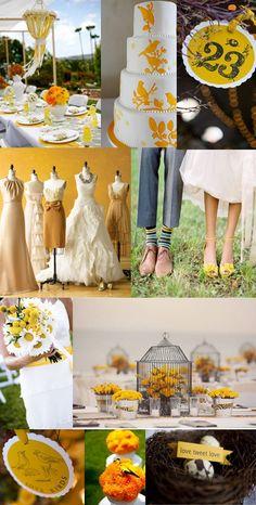 Spring Love Bird Wedding Inspiration